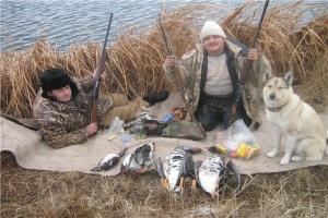 Основные правила охоты на гусей